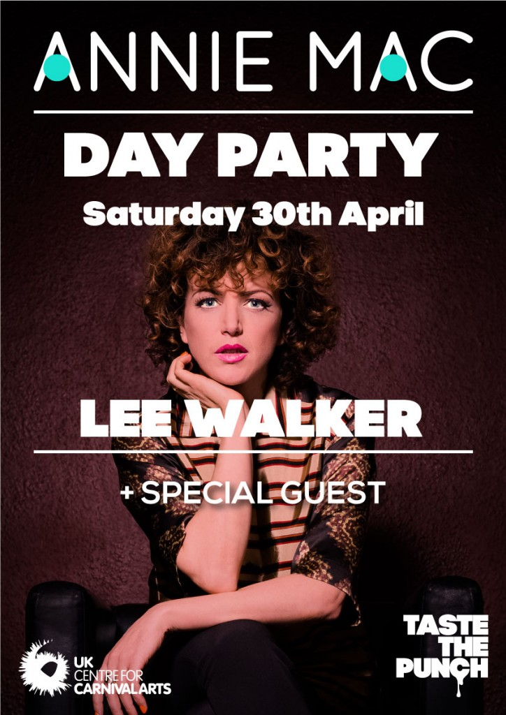 Lee Walker joins Annie Mac at our day party
