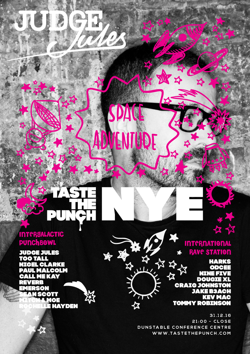 taste the punch new years eve space adventure party