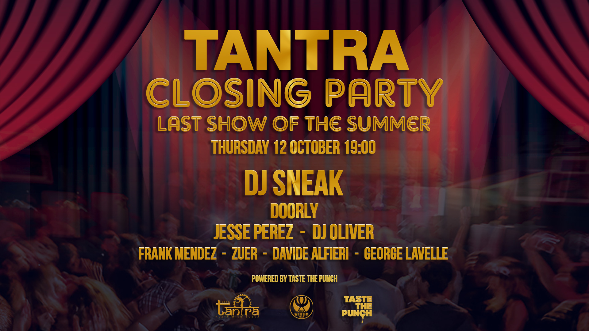 Tantra closing party 12 10 17 ibiza taste the punch for Punch com